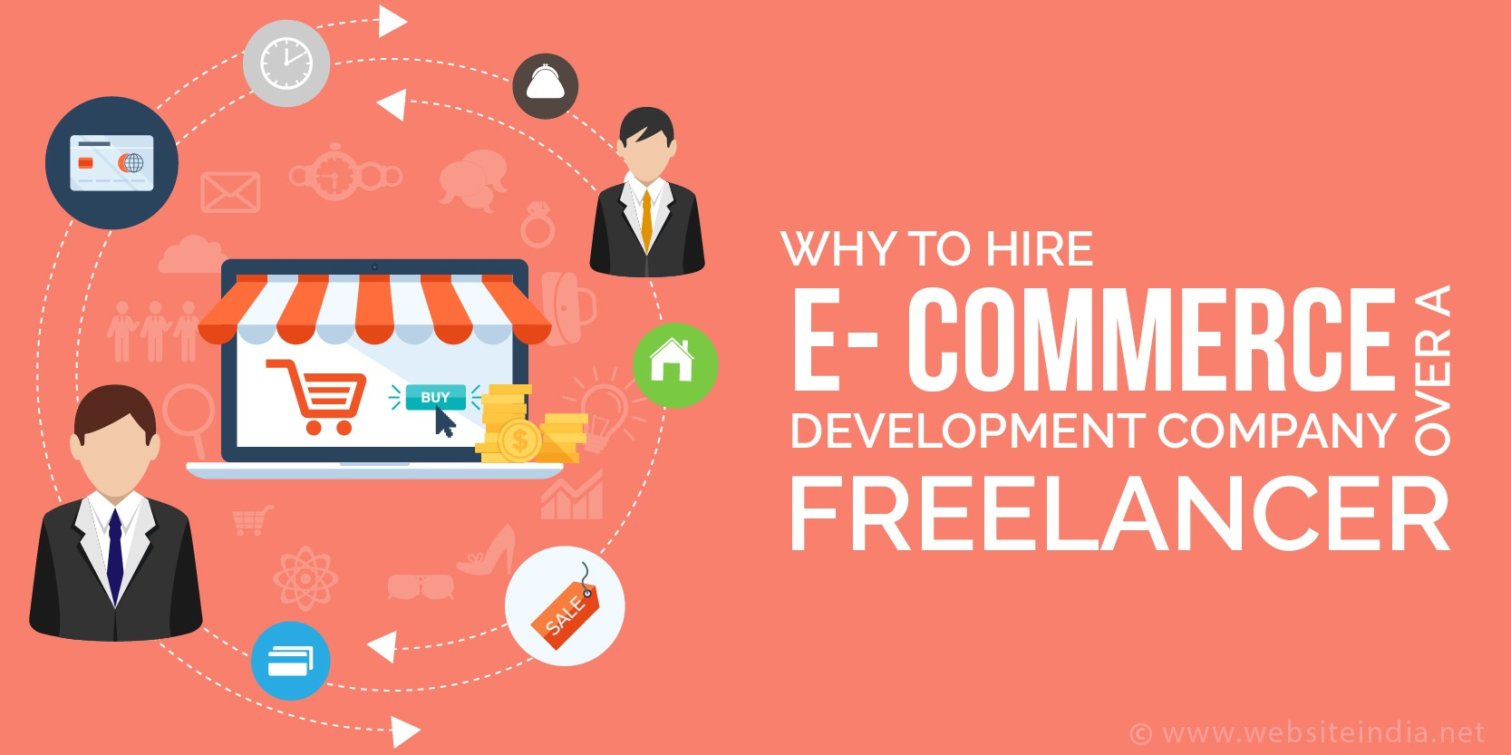 Why to hire Ecommerce Development Company over a Freelancer