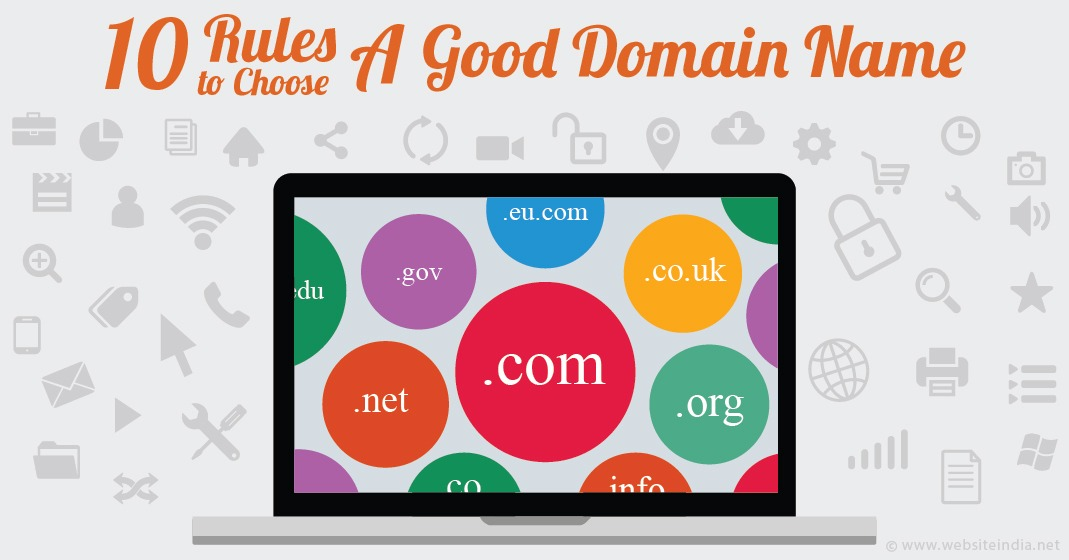 10 Rules to Choose a Good Domain Name